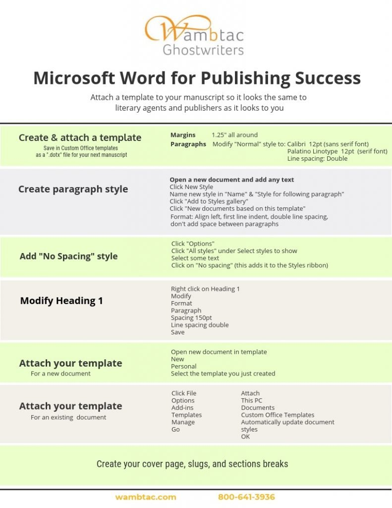 microsoft word for publishing